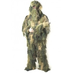 Ghillie Suit Anti Fire 4 dele M/L