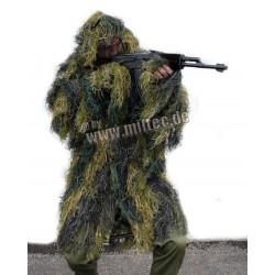 Ghillie Parka Anti Fire Woodland M/L