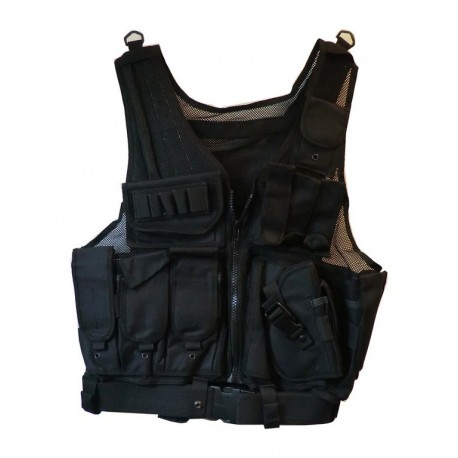 Vest M92 taktisk assault sort