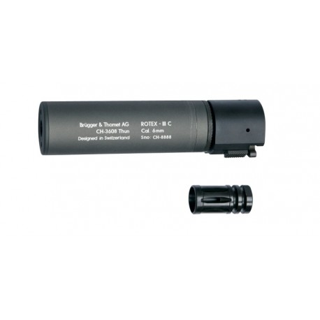 ASG B&T ROTEX-III C Grey Silencer