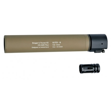 ASG B&T ROTEX-III Tan Silencer