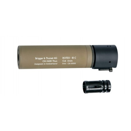 ASG B&T ROTEX-III C Tan Silencer