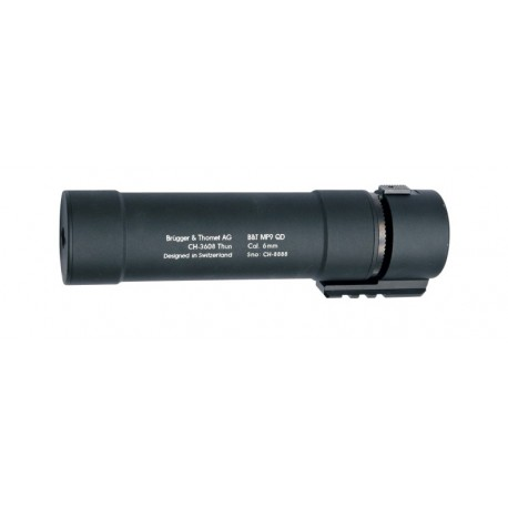 ASG B&T MP9 QD Black Silencer