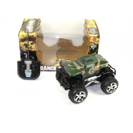 Fjernstyret Military Monster Truck 20cm