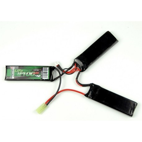 Swiss Arms 9.9V 2100mAh 20C Triple LiFe Batteri