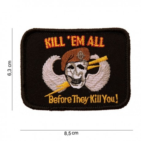 Patch Kill 'Em All Velcro