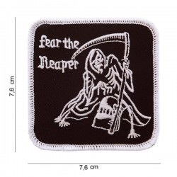 Patch Fear The Reaper Velcro