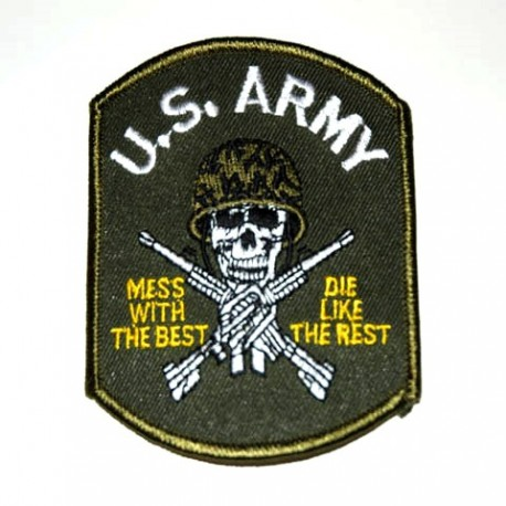 Patch US Army Skull