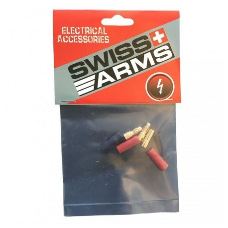 Swiss Arms 3,5mm Guld Connector 2 par