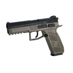 Softgun Pistol ASG CZ P-09 FDE Metal BlowBack Gas
