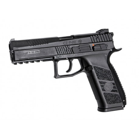 Softgun Pistol ASG CZ P-09 Black BlowBack Gas
