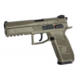 Softgun Pistol ASG CZ P-09 Full FDE BlowBack Gas