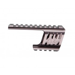 Rail Mount steel grey til Dan Wesson 715 revolver