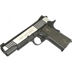 Softgun pistol Cybergun Colt 1911 Rail Gun Dual Tone GBB Co2