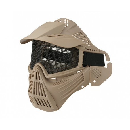 Dragon Guardian V1 Maske Tan