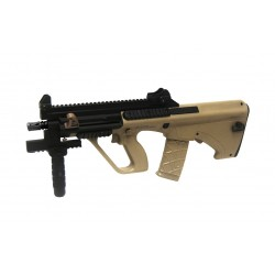 Softgun gevær ASG Steyr AUG A3 XS Commando Tan