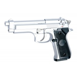Softgun pistol ASG M92F Sølv Gas