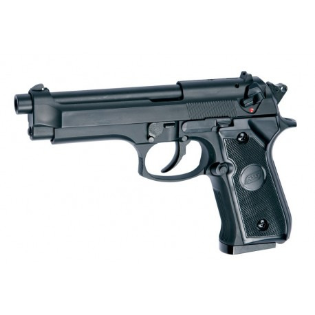 Softgun pistol ASG M92F Sort Gas