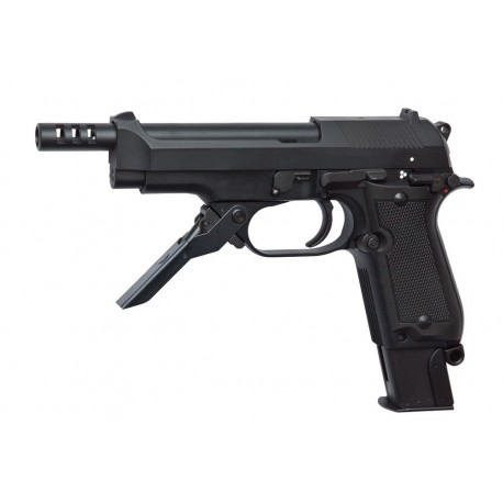 Softgun pistol ASG Beretta M93R II Semi/Full Auto Blowback Gas