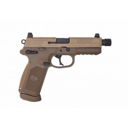 Softgun Pistol Cybergun FNX -45 Tactical Tan GBB