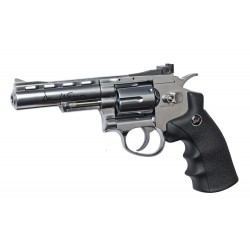 Softgun pistol ASG Dan Wesson 4'' Chrome Co2