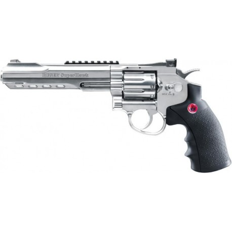 Softgun Pistol Umarex Ruger Super Hawk 6'' Sølv Co2