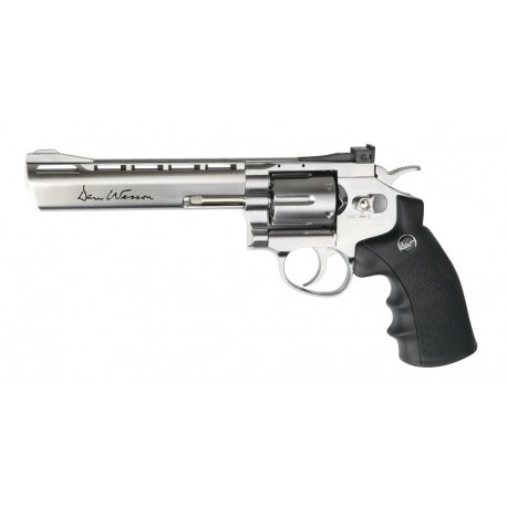 Softgun pistol ASG Dan Wesson 6'' Chrome Co2