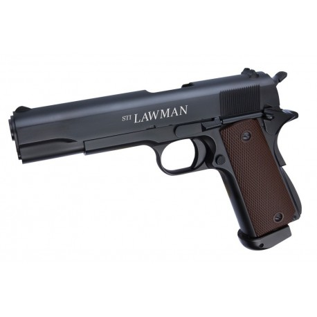 Softgun pistol ASG STI LAWMAN Blowback Co2