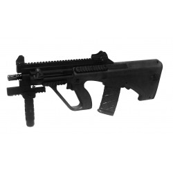 Hardball gevær ASG Steyr AUG A3 XS Commando Black