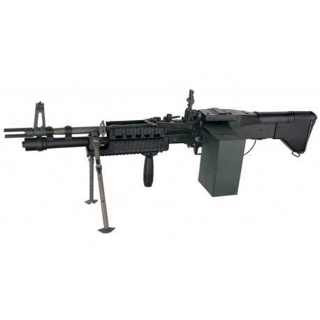 Softgun maskingevær ASG M60E4/MK43 Commando US Ordinance Elektri