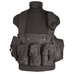 Vest Mil-Tec Chestrig Sort