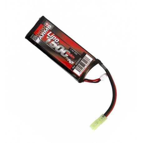 Swiss Arms 7,4V 1500mAh 30C LiPo Batteri