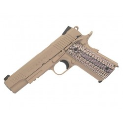 Hardball pistol Cybergun Colt 1911 M45A1 Tan GBB Co2