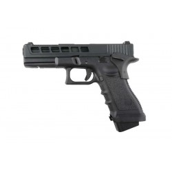 Hardball pistol R17-K sort Gas Blowback