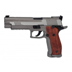 Hardball pistol Cybergun Sig Sauer X-FIVE Stainless Blowback Co2