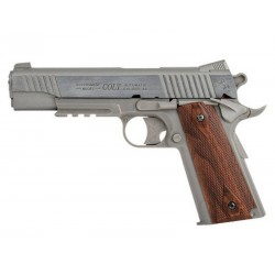 Hardball pistol Cybergun Colt 1911 Rail Gun Stainless Co2