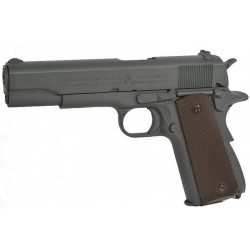 Hardball pistol Cybergun Colt 1911 A1 Grey Metal Blowback Co2