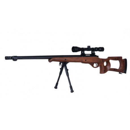 Softgun sniper MB10D Wood Manuel