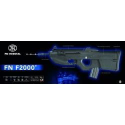 Softgun gevær Cybergun FN Herstal F2000 Sort