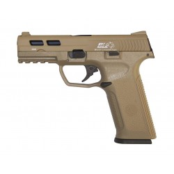 Hardball Pistol ICS XAE Tan BlowBack Gas