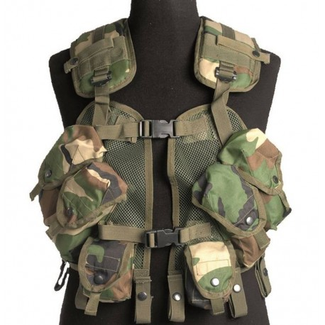 Vest Mil-Tec US Load Bearing Woodland