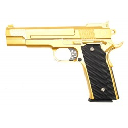 Softgun pistol Galaxy G20 Guld Metal