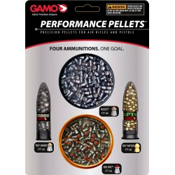Gamo Performance Pellets PBA sortiment
