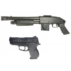 Softgun pumpgun Mossberg S&W M3000 Tactical Kit Manuel