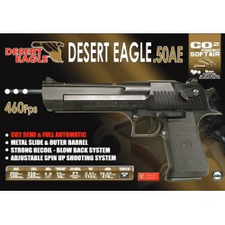 Softgun pistol Cybergun Desert Eagle Full Auto Blowback Co2