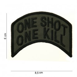 Patch One Shot Velcro
