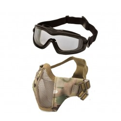 Tactical Brille/Maske bundle Multicam