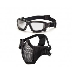 Dual Lens Brille/Maske bundle Sort