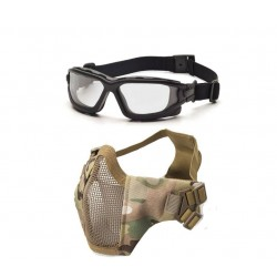 Dual Lens Brille/Maske bundle Multicam