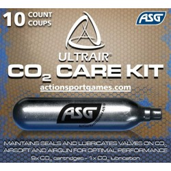 Co2 patroner ASG Care Kit 9+1 stk 12g